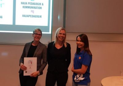 LÄRARSTUDENTER I HALMSTAD MED FOKUS PÅ HJÄRNAN