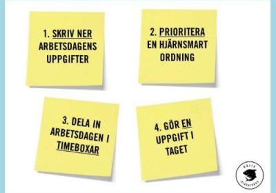 ARBETA SMART MED HJÄRNFOKUS PÅ JOBBET