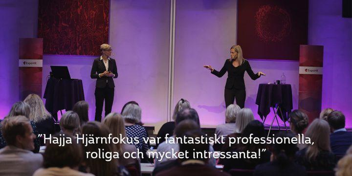 """KICK-OFF MED """"HJÄRNFOKUS PÅ ETT HÅLLBART ARBETSLIV"""" I HÖST    – DAX ATT BOKA"""