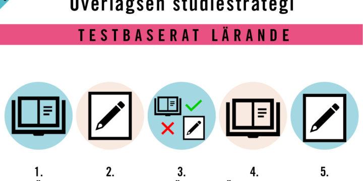 ÖVERLÄGSEN STUDIESTRATEGI – TESTBASERAT LÄRANDE