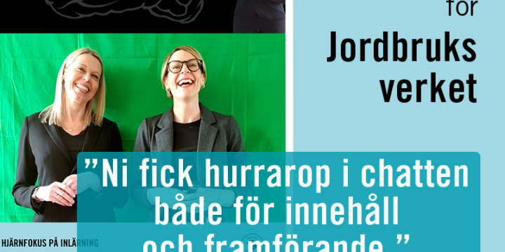 LÄRVECKA PÅ JORDBRUKSVERKET!