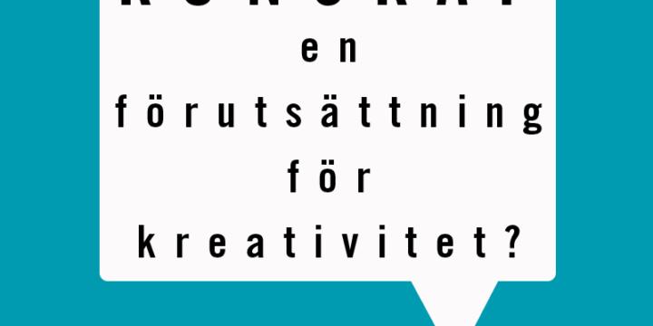 Kunskap – en förutsättning för kreativitet och innovation?